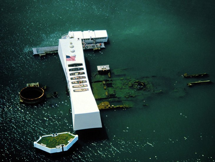 The USS Arizona Memorial (4)