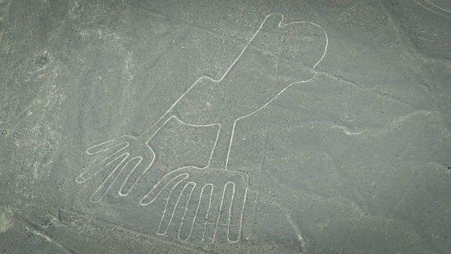Nazca lines aliens - Hands