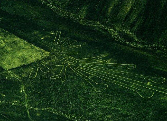 nazca lines aliens - Hevon