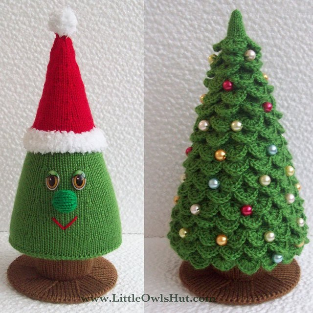 Free Crochet Christmas Tree Hat : Artificial Decorations for Christmas Tree inspiration photos