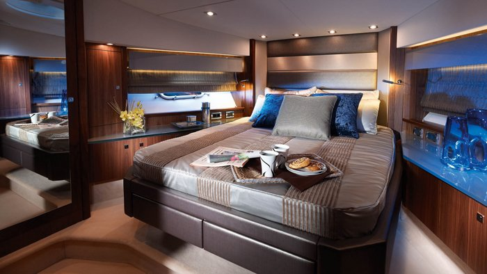 Luxury Yacht Bedroom 1920x1080
