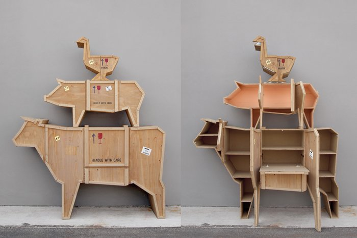 bizarre pieces of furniture that look like animals (19)