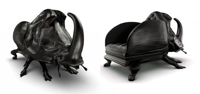 bizarre pieces of furniture that look like animals (17)