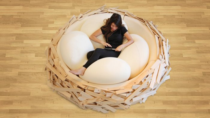 bizarre pieces of furniture that look like animals (12)