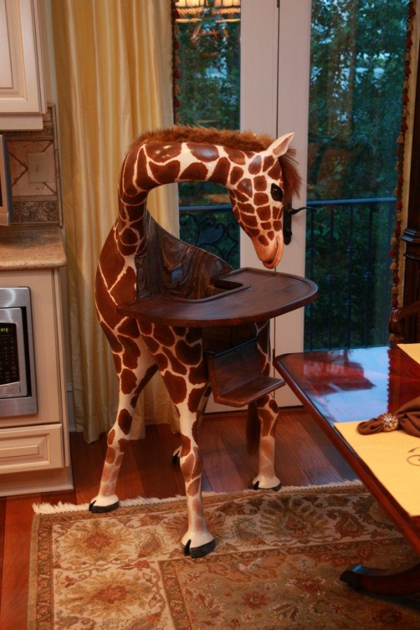 bizarre pieces of furniture that look like animals (11)
