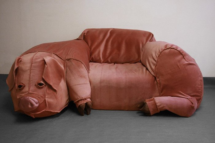 bizarre pieces of furniture that look like animals (4)