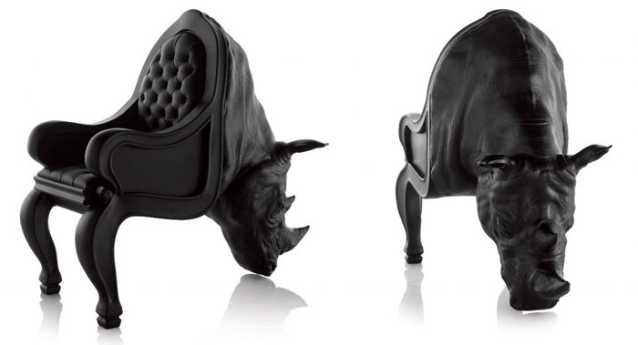 bizarre pieces of furniture that look like animals (3)