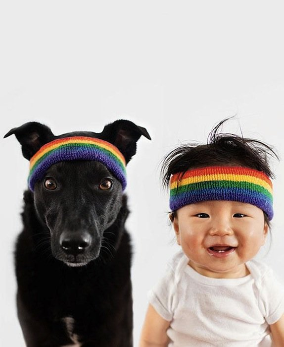 Rescue Dog And Baby (7)
