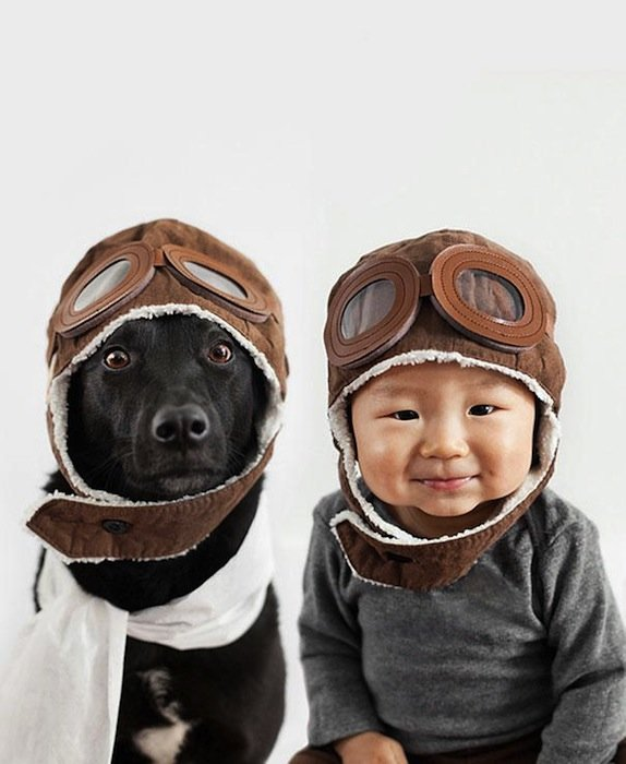 Rescue Dog And Baby (5)