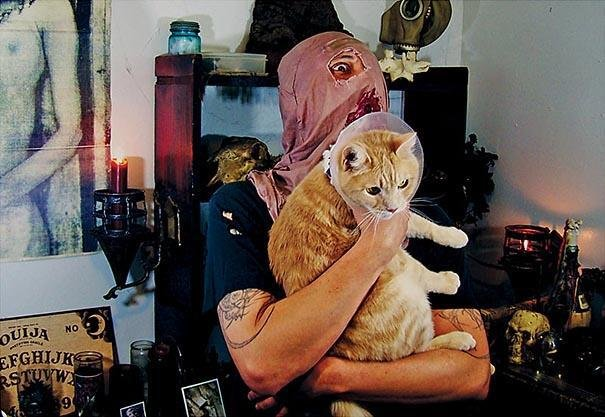 Cute Cats & the Metalheads that Love Them (1)