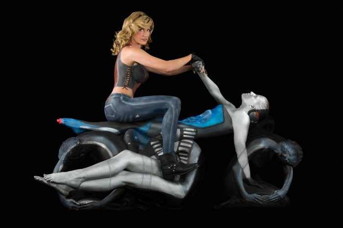 Amazing Body Art Illusions By Trina Merry (12)