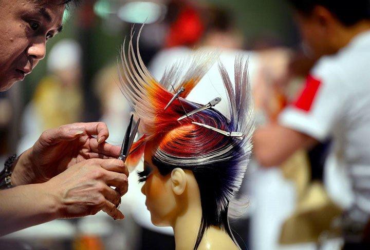 Hair World Cup OMC Hairworld 2014 in Frankfurt am Main, Germany. (5)