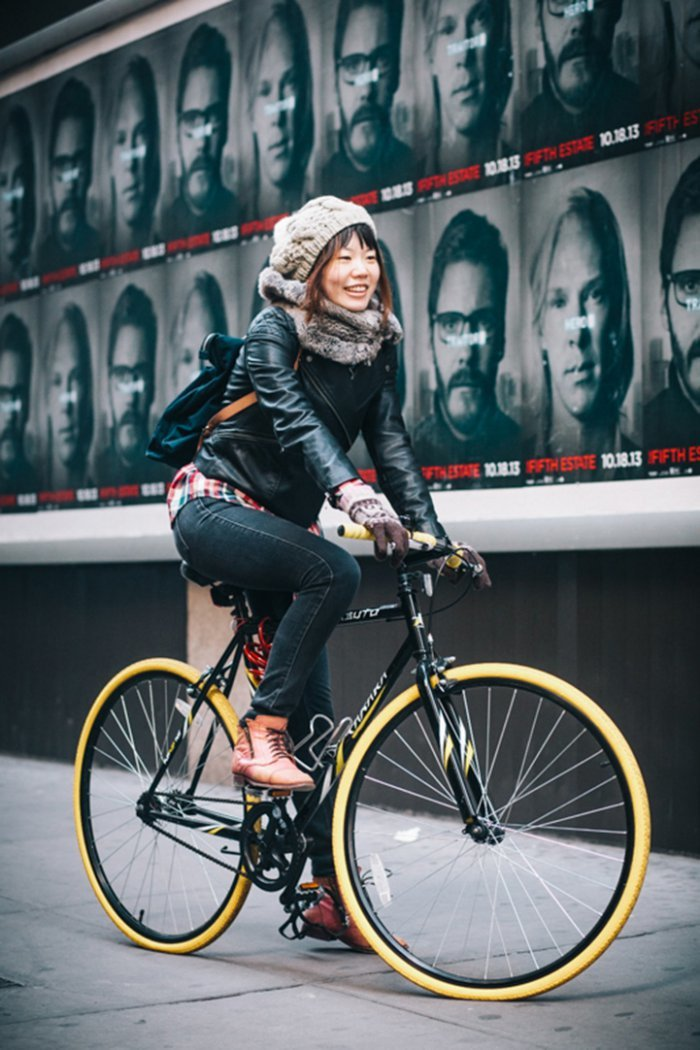 Portraits of Hip New Yorkers with Their Bikes  (16)