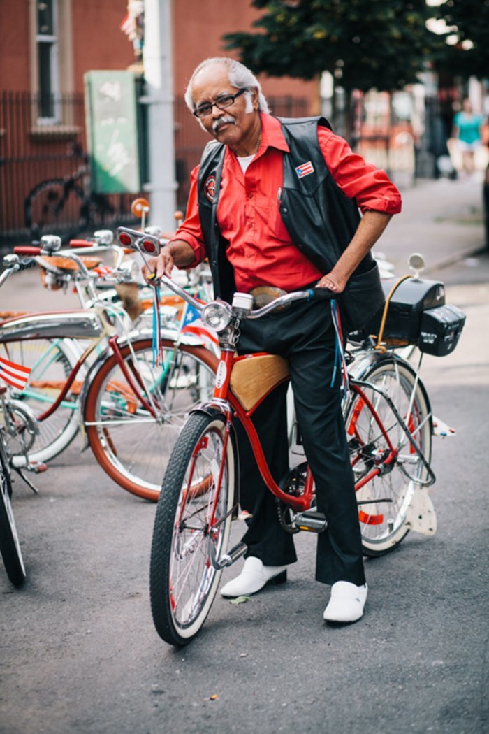 Portraits of Hip New Yorkers with Their Bikes  (14)