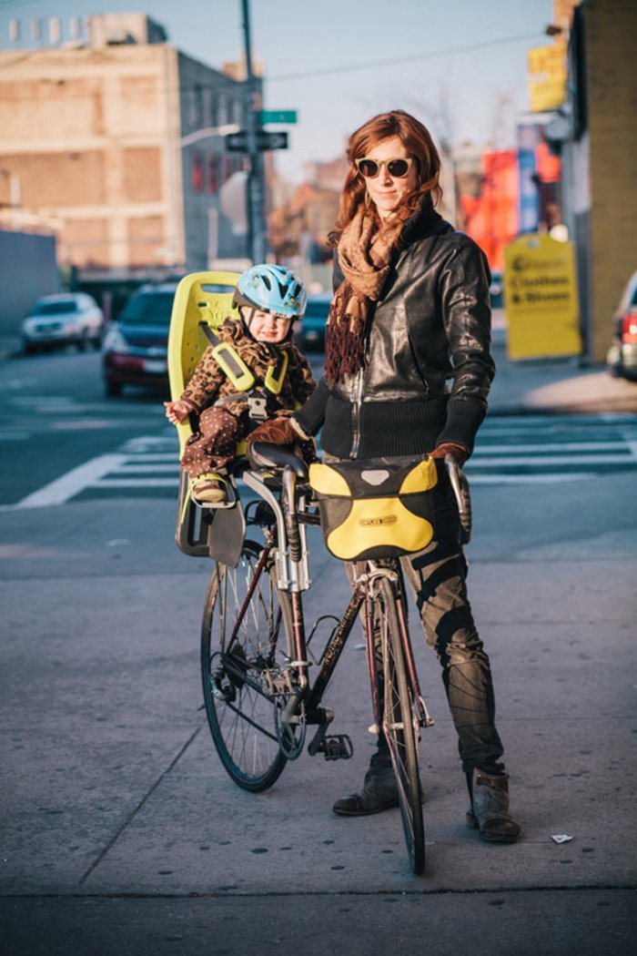 Portraits of Hip New Yorkers with Their Bikes  (10)