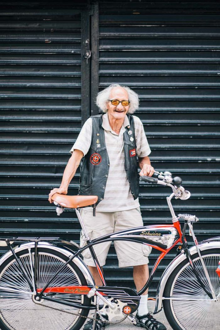 Portraits of Hip New Yorkers with Their Bikes  (7)