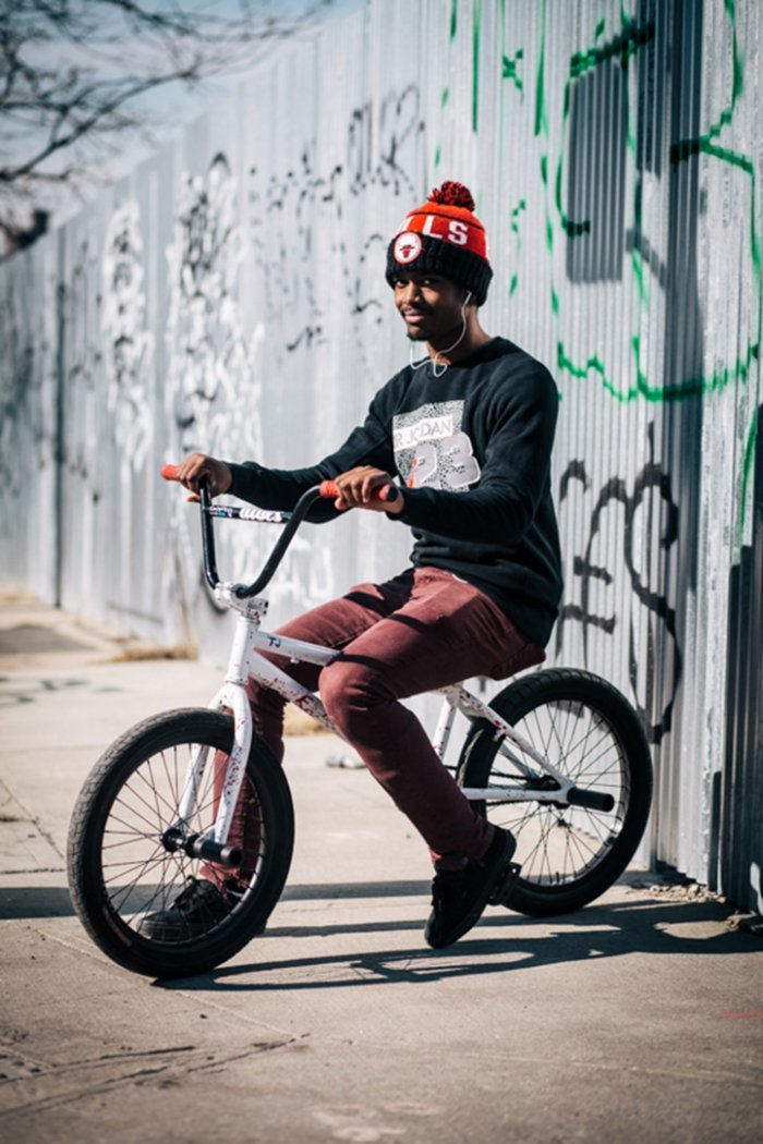 Portraits of Hip New Yorkers with Their Bikes  (1)
