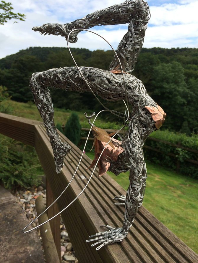 Dramatic Stainless Steel Wire Fairies by Robin Wight (11)
