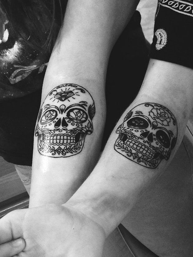 Romantic Couples Tattoo Designs (54)