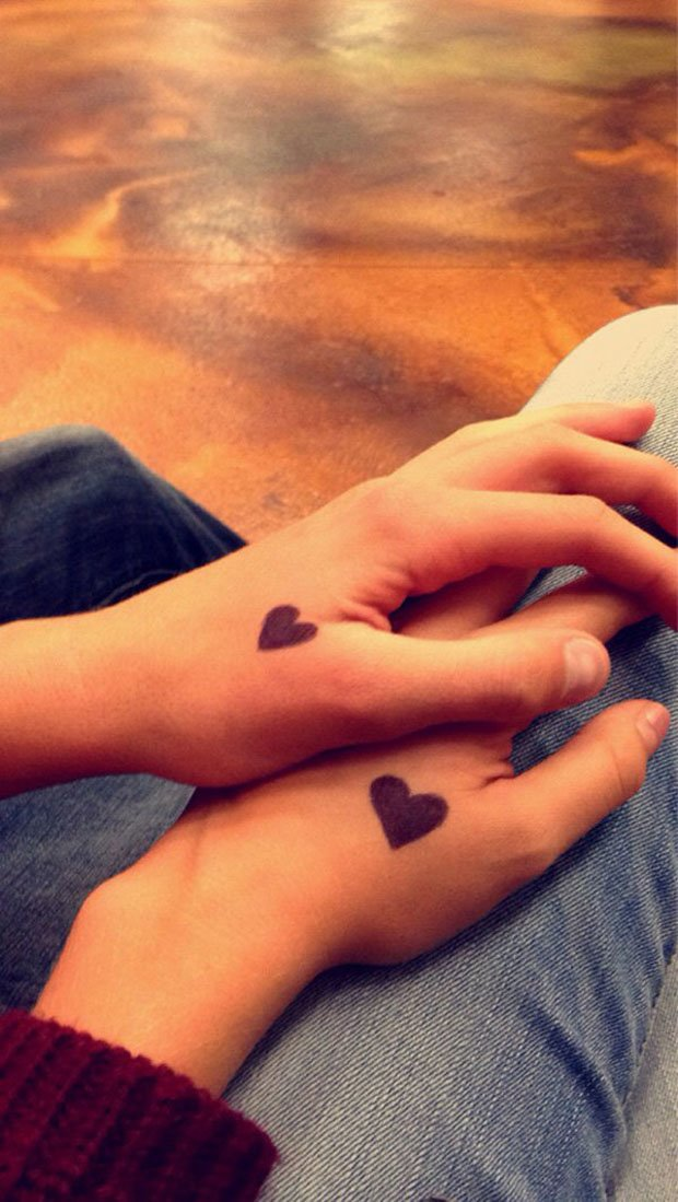 Romantic Couples Tattoo Designs (66)