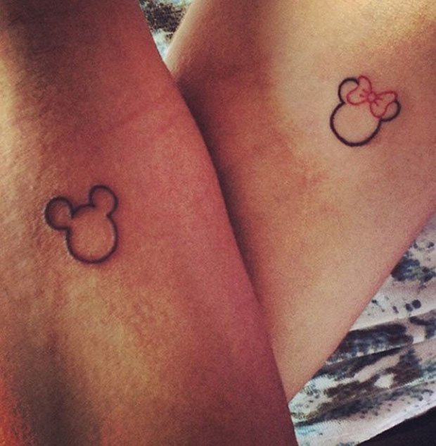 Romantic Couples Tattoo Designs  (46)