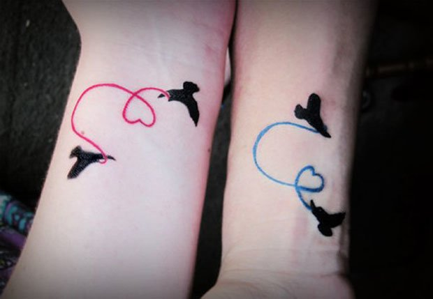 Romantic Couples Tattoo Designs  (45)