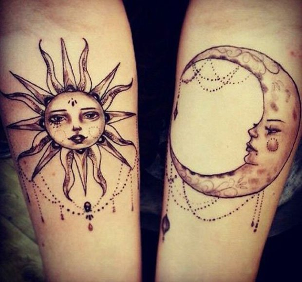Romantic Couples Tattoo Designs  (44)