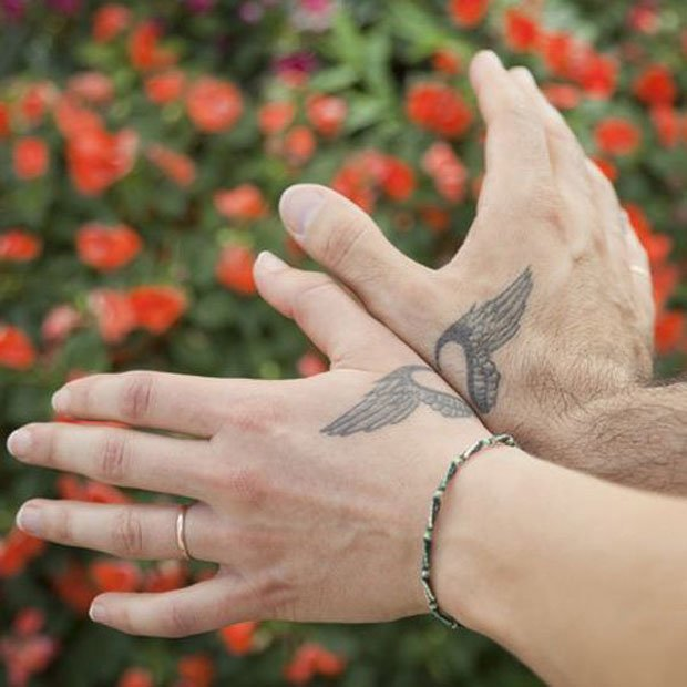 Romantic Couples Tattoo Designs  (39)