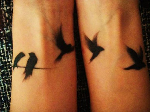 Romantic Couples Tattoo Designs  (37)