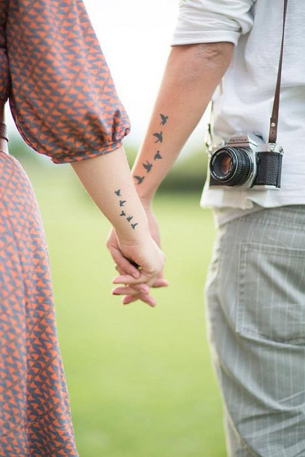Romantic Couples Tattoo Designs  (33)