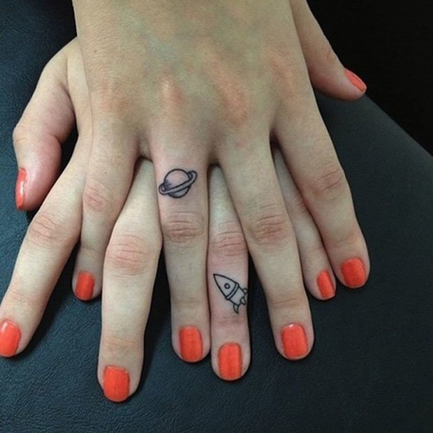Romantic Couples Tattoo Designs (29)
