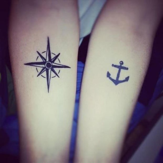 Romantic Couples Tattoo Designs (27)
