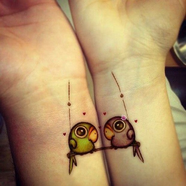Romantic Couples Tattoo Designs  (23)