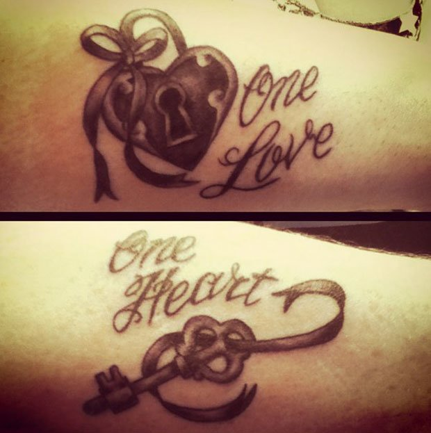 Romantic Couples Tattoo Designs  (63)