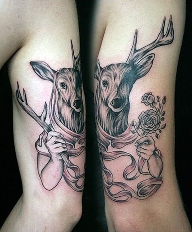 Romantic Couples Tattoo Designs  (18)