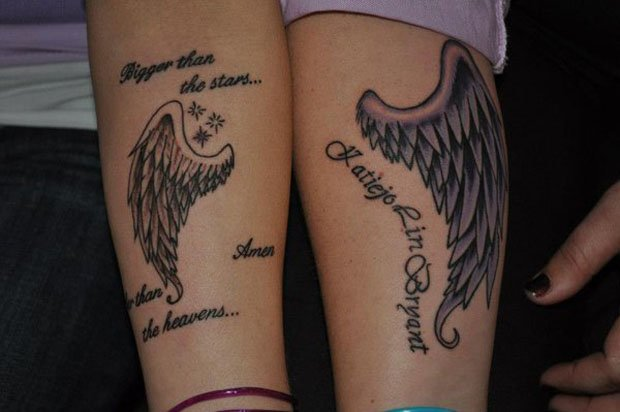 Romantic Couples Tattoo Designs  (16)