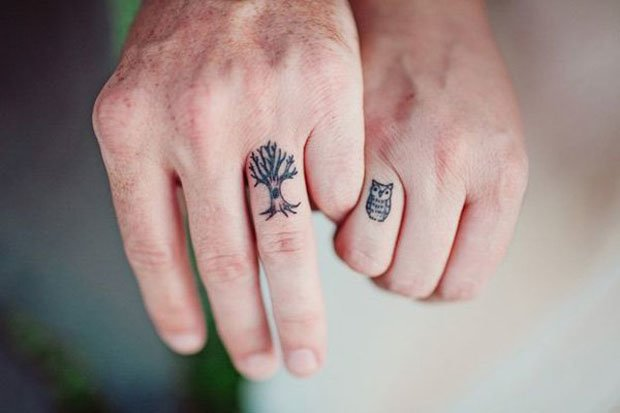 Romantic Couples Tattoo Designs (14)