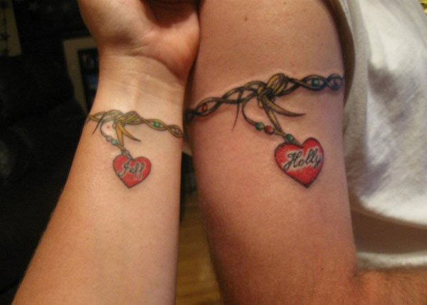 Romantic Couples Tattoo Designs (13)