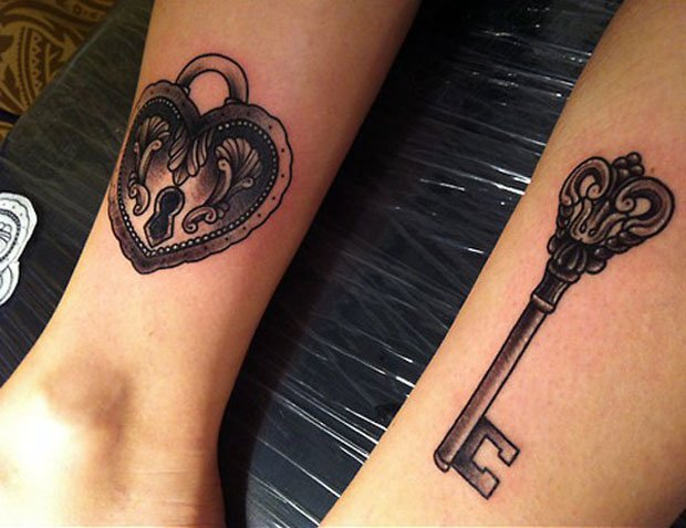Romantic Couples Tattoo Designs  (62)