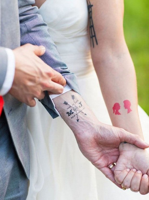 Romantic Couples Tattoo Designs (5)