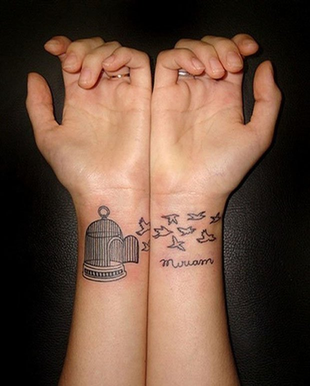 Romantic Couples Tattoo Designs  (1)