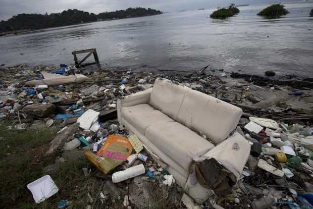 Rio 2016: contamination and expenses sloppy Olympic waters (8)