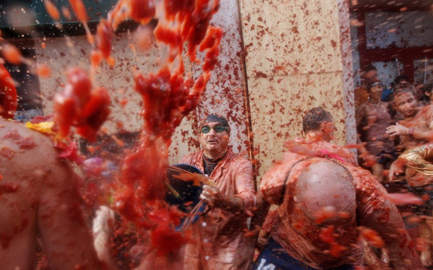 70th annual tomato food fight, in Photography (13)