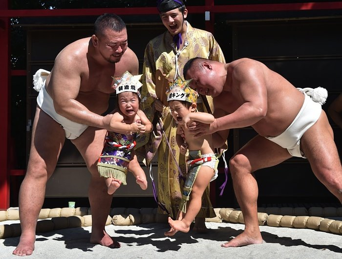 Baby Crying Competition at Japan (5)