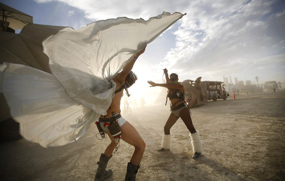 Burning Man - Black Rock Desert in Nevada (8)