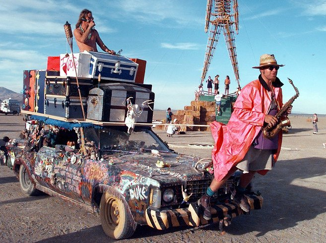 Burning Man - Black Rock Desert in Nevada (3)