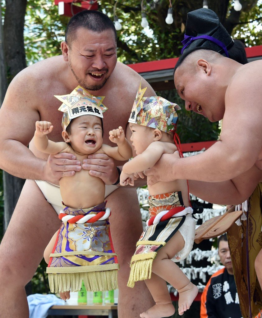 Baby Crying Competition at Japan (3)