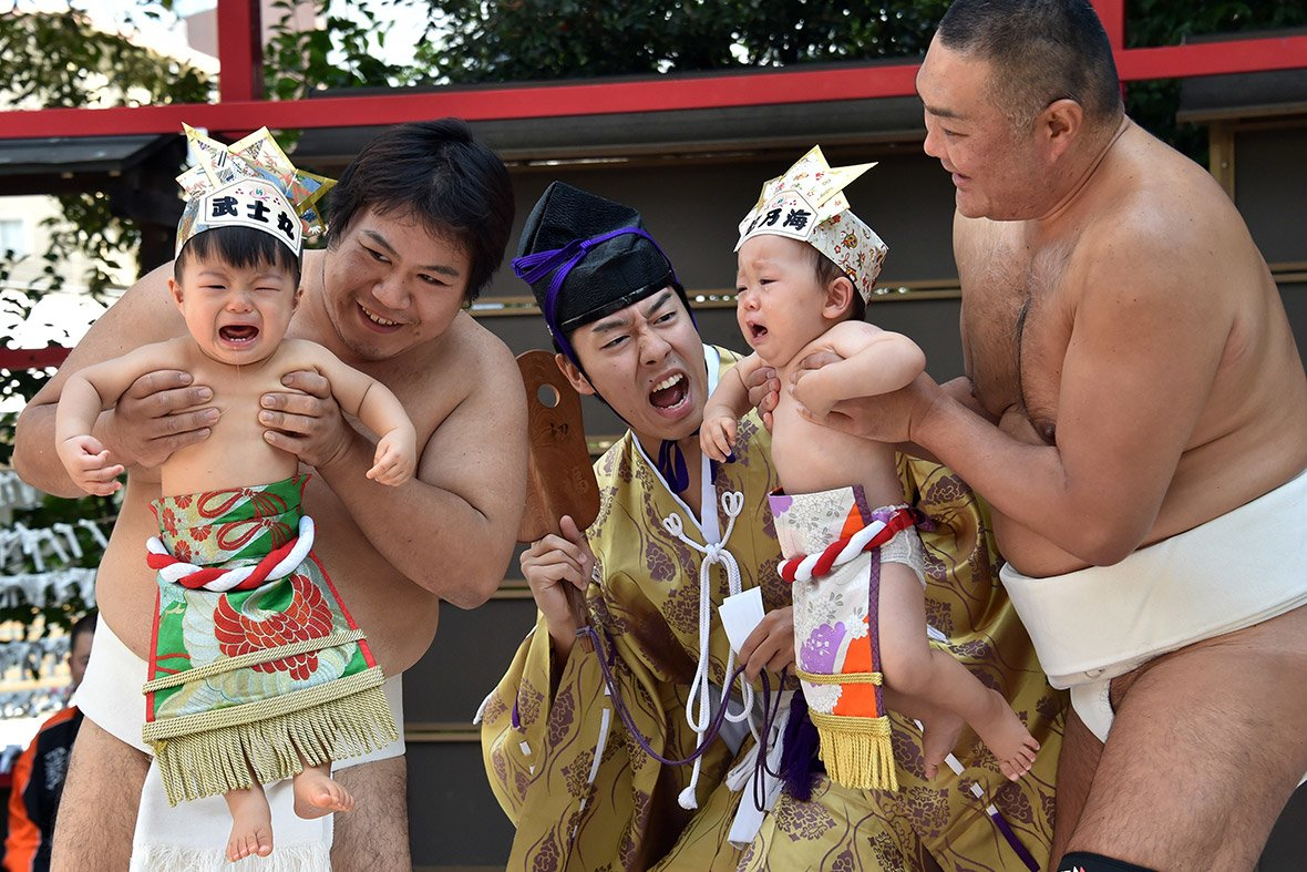 Baby Crying Competition at Japan (1)