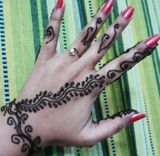Asian Famous Mehndi Designs For Hand Finger (29)