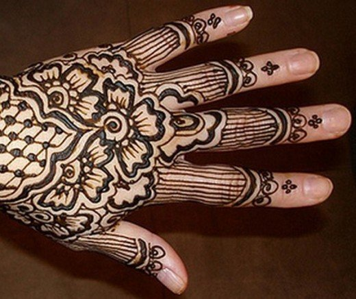 Asian Famous Mehndi Designs For Hand Finger (17)
